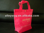 nonwoven ultrasonic shoes bag, DOC bag, hot seal bag, ultrasonic bag, non-stitching bag,