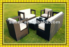garden synthetic rattan sofa SCSF-002