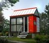 cabin hotel. mini bar .log house .