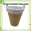 Household seagrass laundry basket