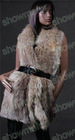 knitted rex rabbit fur vest /Nr.SMA83