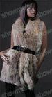 knitted rex rabbit fur vest /Nr.SMA83