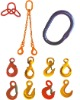 G8 rigging hardware and lifting slings