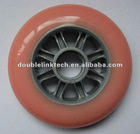 Pink PU scooter wheel