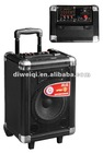 (A2) active portable battery speaker trolley speaker box