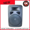 Subwoofer 12 inch active plastic speaker box