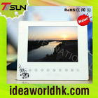 8 inch touch key acrylic lcd digital photo frame with U disk