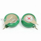 NiMH rechargeable button cell