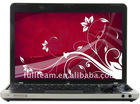 12'' low price laptop with 130W pixel Webcam & dual core CPU