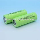 Li-Ion 18500 Cylindrical 3.7V 1200mAh Flat Top Rechargeable Battery