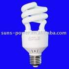 Long lifetime DC CFL light, 12/24V, spiral, 15W-20W