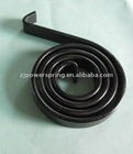 Quality steel flat spiral spring