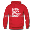 Custom high quality printed hoodies