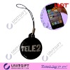 With strap soft PVC mobile phone cleaner