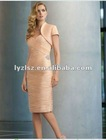 APP016 New arrival Sheath Sweetheart new design beautiful elegant mother of bridal dress