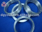 PE transprent plastic coated iron wire twist tie