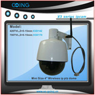 GOING mini wifi wireless webcam speed dome ip camera
