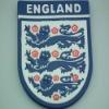 promotional souvenir England logo cup mat