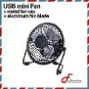 metal Mini USB Fan with aluminum blade