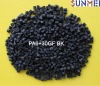 Black color of PA6 glass fiber reinforced plastic material