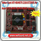 Video Graphic Card ATI HD4670 216-072905 DDR3 1G For Acer 8735 8935 8940 8943 laptop