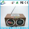 TF micro sd music player fm radio usb mini speaker LMD-L385