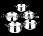stainless steel casserole set
