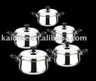 stainless steel casserole set