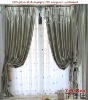 BC16101 100%Polyester luxury blackout curtain patterns