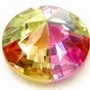 Colorful zircon beads/fashion wheel beads/jewelry bead