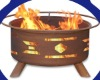 Santa Fe outdoor fire pits