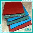 500mm*500mm outdoor safety rubber tiles