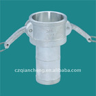 2-1/2'' SS 304 STEEL PIPE CONNECTOR C