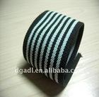 black and white nylon webbing