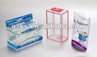 PET, PVC plastic packing boxes