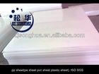 pp sheet(pe sheet pvc sheet plastic sheet)