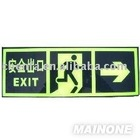 ABS exit signs
