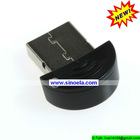 Sinoela Rechargeable portable mini usb 2.0 Bluetooth Adapter for PDA,PC,Mobile Phone