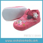 2011 newest baby shoes with bright color and fashion design