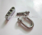 Popular Stainless Steel Adjustable Shackle with Knurled Screw Pins