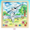 China wooden educational puzzle and toys