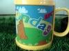 Plastic cup mug