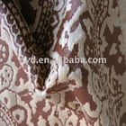 Printed Velboa fabric