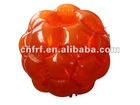Inflatable Transparent Orange Giga Ball