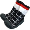 Knitted Sock with Sole