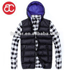 Black Men's Vest ST185C