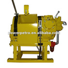 Double brake Pneumatic Air Winch for oilfield (5Ton Pull Force)