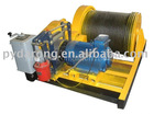 winch for gold mine lifting, wagon pulling