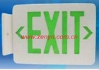 2*8w Exit sign fluorescent emergency light