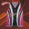 sublimated polyester basketball league jersey wear
